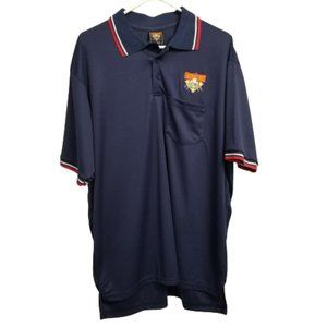 Authentic Cooperstown Dreams Park Polo Shirt L
